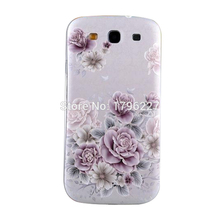 mobile Phone cover For Samsung I9300 Galaxy S3 SIII mobile cover 3D Relief Phone Case (22 photo selection)