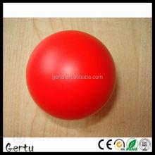 polyurethane 6.3cm red anti stress ball