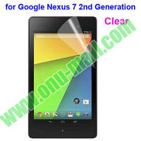 Clear Screen Protector for Google Nexus 7 II 2nd Second Generation (Clear/Frosted/HD/Diamond,etc)