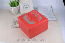 birthday cake box with handle low price factory supplier