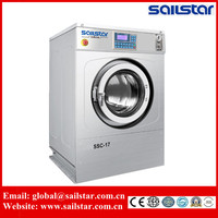 denim wash factory commerical coin operated laundry washing extractor machine