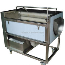 2015 best price stainless steel automatic carrot washing and peel with high efficient and low energy consumption