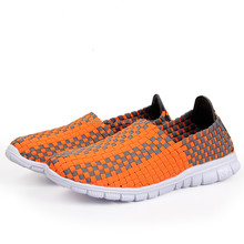 2014 newest lovers hand woven shoes