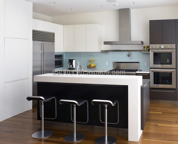 Haute qualité blanc simple meubles de cuisine petit