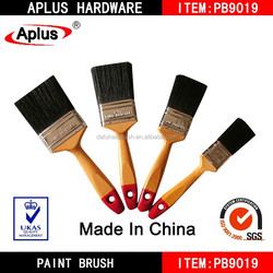 Manufacturer of paint brushes with black bristle and wooden handle