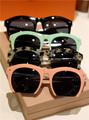 Gafas de sol de marco mitad