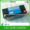 ups battery pack of lifepo4 12V-17Ah