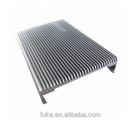 Rectangle extruded heat sink of Led lighting