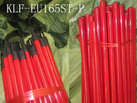 pvc coated wooden broom handle/pvc coated wooden broom stick/wooden broom handle coat pvc