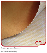 2015 newest high quality pvc leather for bag made in China