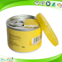 High quality oem 90g Free sample air fresh/Gel air freshener container/OEM car air freshener