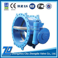 Latest technology DN1000 PN16 drinking water butterfly valve