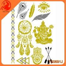 Luminous Tattoo Sticker,Disposable Tattoo Sticker,Animal Custom Design Non-Toxic Temporary Sticker For Body