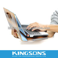 Genuine Rotating stand leather case for tablet pc #KS6113L