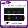 Top Selling mini keyboard wireless MX3 Somatosensory remote control MX3 2.4 ghz mouse