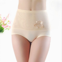 VT425 Shaped high waist bodycon panties for fat women ladies