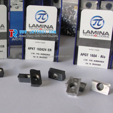 Laminas inserts LT10/ LT30 for machining steel, stainless steel, cast iron APKT160424ER LT10