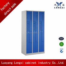 KD Structure Steel Clothes Cabinet Z Shape Locker