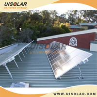 12KW Home Application Concrete Slate Roof Solar Mounting Rack