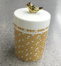 F2130-P9891-5-75 Ceramic Candle Jar