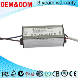 high quality Constant Current 30w 900ma waterproof electronic led driver IP67 for led street light