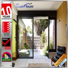 Meet Australian standard AS2047 aluminium industrial door glass inserts blinds air tight swing doors