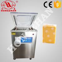 Hot sale Hongzhan DZ400 2D stand type meat fish cereal vacuum food vacuum sealer