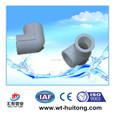 De plástico instalación de tuberías PPR 90 Degree codo para línea de agua