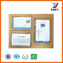 A3 size hard cer plastic business card case