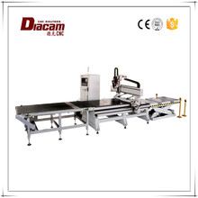 WL1325A+ feeding and blanking 3d cnc wood carving machine