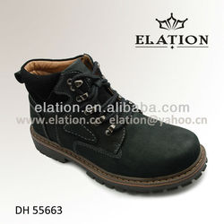 DH 55663 Men pure leather boot shoe is not the business shoes