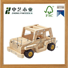 2015 china manucfacturers factory suppliers hot selling FSC&SA8000 DIY kids wooden assembly educational toy