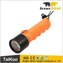 LED Diving flashlight 100-120 meter underwater torch
