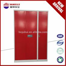 Modern Design Indian style 3 door wardobe closet / mirroed wardrobes / Storage armoire