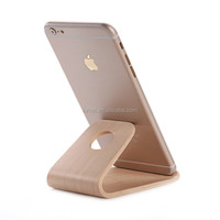 High Quality Wooden Cell Phone Universal Stand Holder For Iphone Samsung