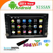 Android 4.2 support DIY backlight color qashqai car mp3 mp4 player