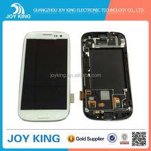 Replacement LCD Display +Touch Screen Digitizer Assembly For Samsung Galaxy S3 i9300 i747 t999 Lcd White,Black,Blue ,red , grey