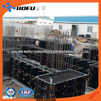BOFU concrete formwork system, construction formwork, almost need not wood to protect environment