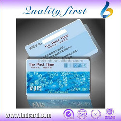 LBD Best Selling Signature Panel PVC Cards RFID Cards