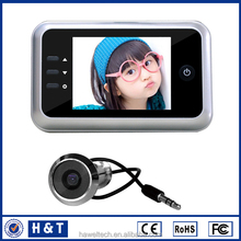 """DVR chinese electronic stores 4.3"""" movement detecting peephole With Recording"""