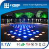 CE RoHS low voltage ip67 color changing led glass bricks for floor