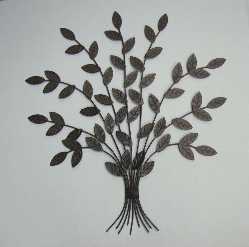 M tal arbre d coration murale autres d cors maison id du for Decoration murale arbre metal