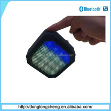 Newest wireless portable bluetooth speaker with colorful light made in china