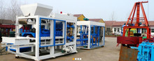 Changli Brand Big capacity QT10-15 Hydraulic and automatic hollow concrete block making machine with capacity 100000PCS per day