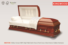 WESTON China casket importer coffin for the dead body coffin french ali export from china
