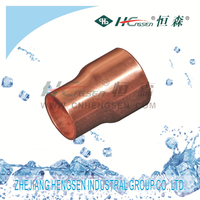 Fitting Reducer/copper fitting pipe fittings for refrigeration parts and air-conditioner parts passed CE,ISO9001