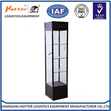 high quality Jewelry glass display product store showcase