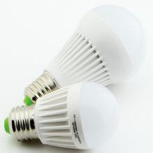 E27 5w high brightness & cheap price plastic led bulb warm-heat bulb led tri light bulb
