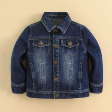 China Guangzhou Wholesale Kids Clothes Kids Denim Jacket ,Wholesale Kids Coat Denim Design
