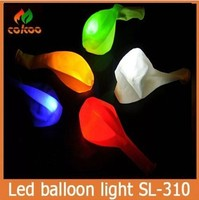 2016 new product Multicolor Led Latex Balloons Party Decoration Led Balloons Decoration Flashing Led Balloon